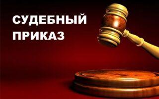 Судебный приказ — что это такое?