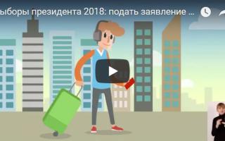 Выборы президента 2018: выбрать через МФЦ участок для голосования