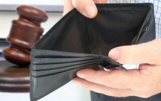 Банкротство физического лица в 4 шага