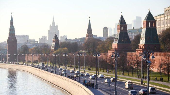 Москва вид