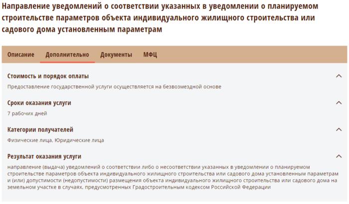 Уведомление о строительстве - Воронеж