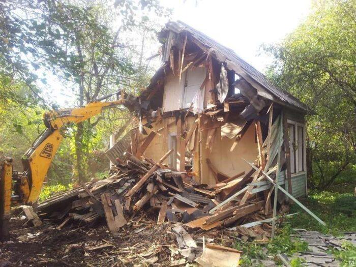 Снять с учета снесенный дом